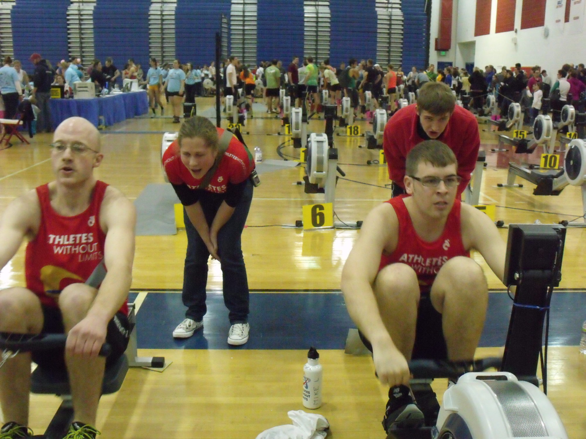 Join AWL at Erg Sprints-World Indoor Rowing